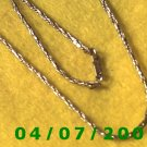 Gold Necklace    E5047