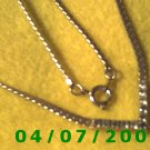 Gold Necklace w/Cz's      E5048