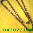Gold Necklace     E6018