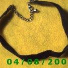 Black Velvet Choker     E6028
