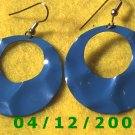 Blue Pierced Earrings     Q1014