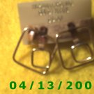 Square Gold Filled Pierced Earrings 		Q2011