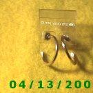 Hoop Gold Pierced Earrings         Q2025