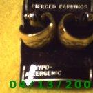 Hoop Gold Pierced Earrings        Q2027