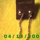 Gold Pierced Earrings Q2030