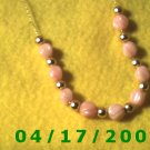 Beads Gold Cord Necklace     E3007