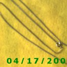 Silver Necklace     E3008