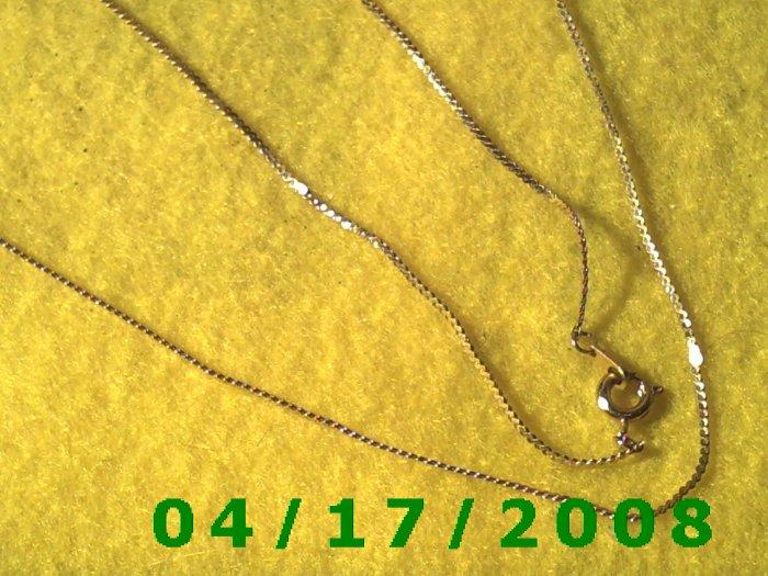 Gold Necklace     E3012