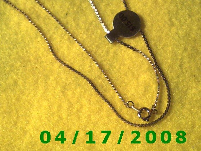 Gold Necklace     E3013