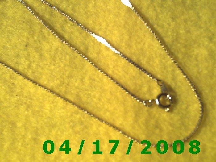 Gold Necklace     E3016