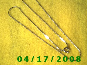 Silver Necklace    EI006