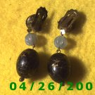 Bead Clip On Earrings      095