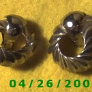 Silver Clip On Earrings.......  097