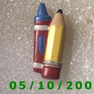 Pencil and Crayon Pin   (117)