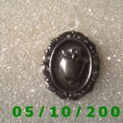 Silver Framed Apple Pin  (100)