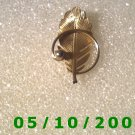 Gold Leaf Pin  A078