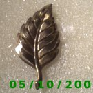 Gold Leaf Pin  A082