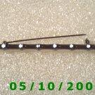 Silver Bamboo Pin