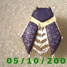 Gold n Blue Bug Pin