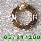 "1 1/4"" Gold w/Pearl Pin..............  B057"