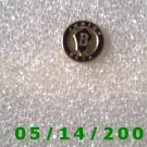 Gold n Black B Junior Beta Pin   BB004