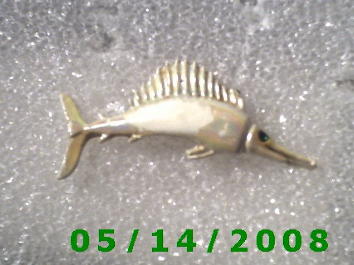 Swordfish Pin    B038