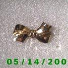 Gold Bow Pin    B032