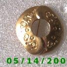 Gold Pin    B021