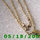 "18"" Gold Plated Necklace (010)"