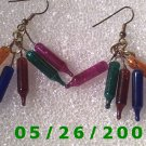 Miniature Lights Pierced Earrings     C010