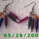 Miniature Lights Pierced Earrings     C010