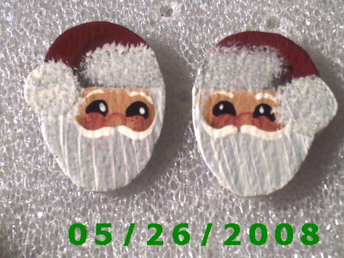 Santa Pierced Earrings     C021