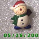 Snowman Pin     C006
