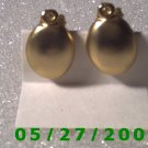 Gold Clip On Earrings    D022 1003