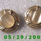 Silver Clip On Earrings    D044