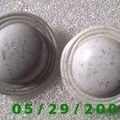 White Clip On Earrings   D070