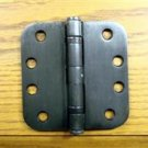 "Oil Rubbed Bronze 4"" 5/8"" Radius Ball Bearing Commercial Door Hinge"