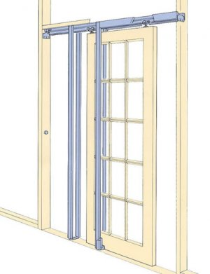 Pocket door frame kit pocket door set for Door frame kit