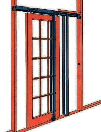 Heavy duty pocket door frame kit pocket door set for Door frame kit