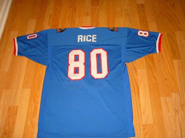 Jerry Rice Rare Probowl Jersey
