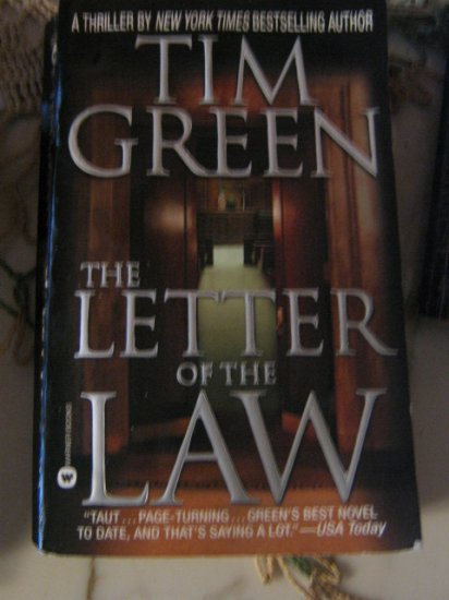 The Letter of the Law ~ Tim Green ~ 2000 ~ PB