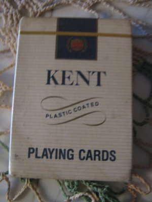 Vintage Kent Cigarettes deck of Playing Cards