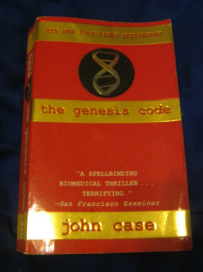 The Genesis Code ~ John Case  ~ 1997 ~  PB ~ suspense