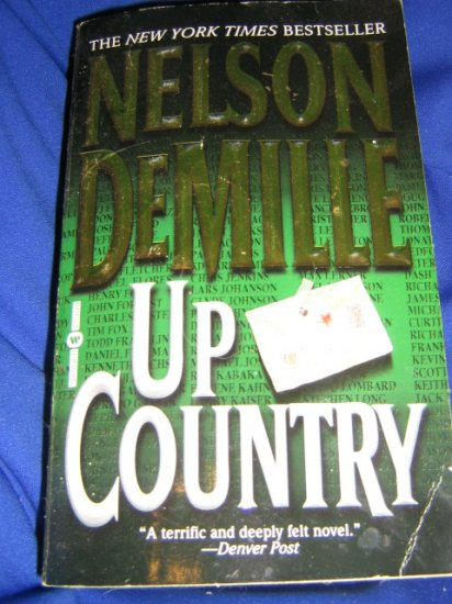 Up Country ~ Nelson DeMille  ~ 2003 ~  PB ~ thriller