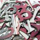 Romance Chipboard Letters Scrapbooking