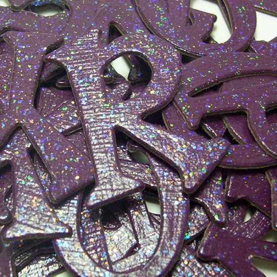 Sparkling Wine Chipboard Letters Scrapbooking