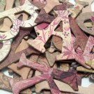 Once Upon a Time Chipboard Letters Scrapbooking