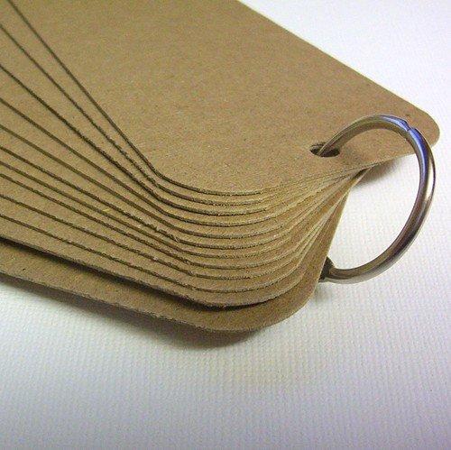 Blank Chipboard Tag Book Scrapbooking