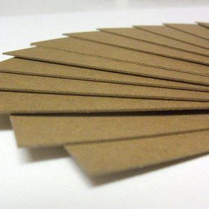 Blank Chipboard Bookmarks Scrapbooking