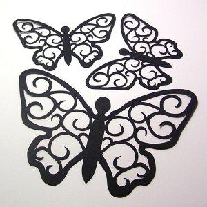 Butterflies - Die Cuts Scrapbooking